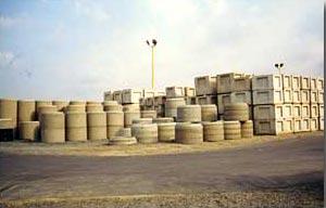Precast Manufacturing Company Yard