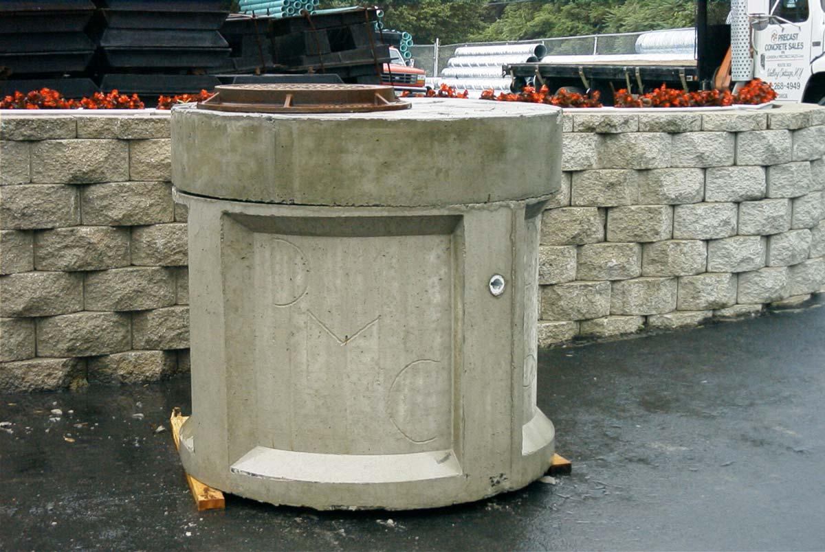 Storm Knockout Manhole