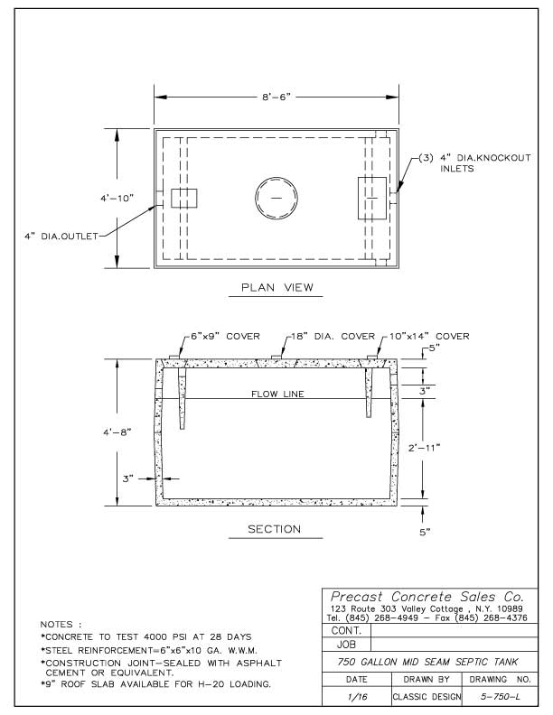 septic tanks - precast manufacturing company 2000 ford f150 fuel tank diagram