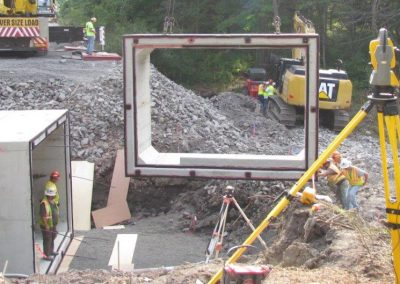 BOX CULVERT – INSTALLED BY CONTRACTOR